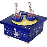 Trousselier Sophie la Jirafa - Caja musical de madera magnética, diseño Vía Láctea