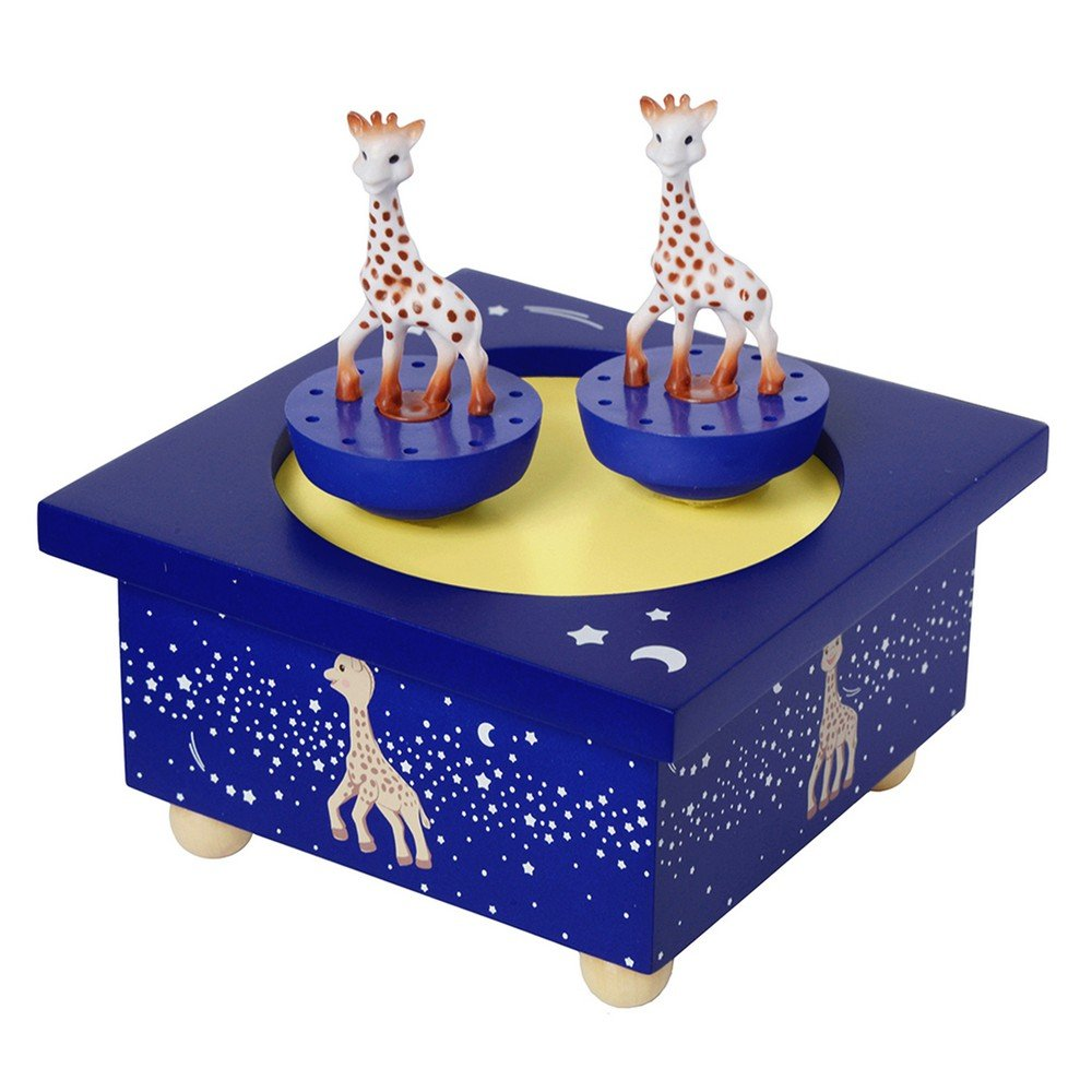 Trousselier Spinning Music Box Sophie The Giraffe Milky Way by Trousselier