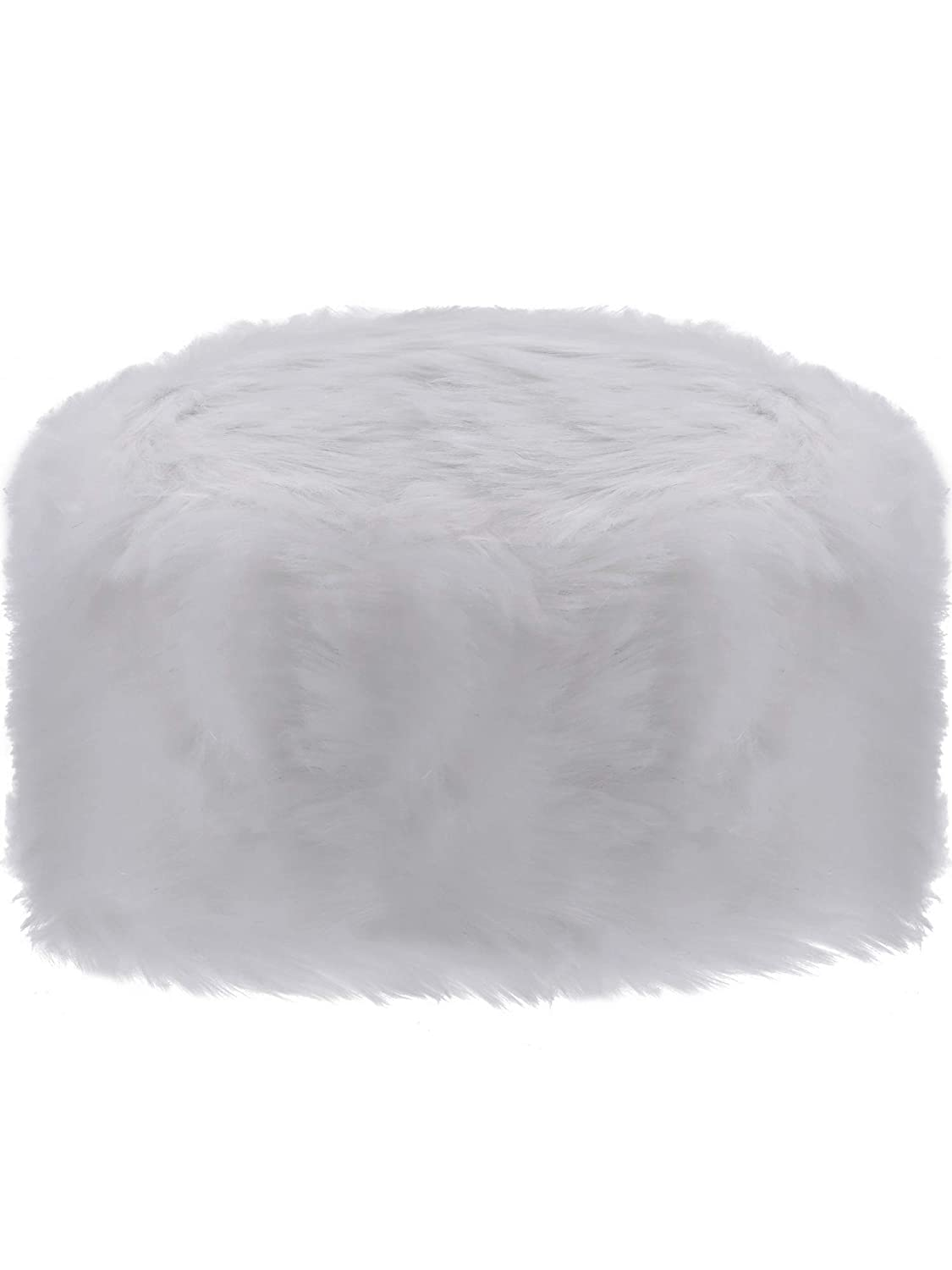 Sumind Faux Fur Hat Winter Russian Style Hat Cossack Cap for Winter Women Girls Favor