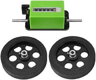 LECHI Compteur de Compteur – 1 pièce de Compteur de Longueur mécanique Compteur de roulettes Vert