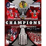Frameworth Chicago Blackhawks 16x20 Stanley Cup 2015 Collage Plaque