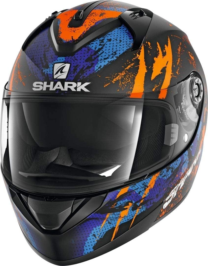 Nero//Anthracite XS Shark Casco moto RIDILL 1.2 NELUM KSA