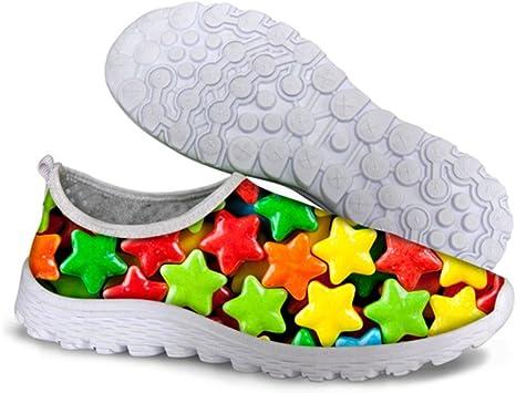 Piup - Zapatillas de Correr Unisex para Hombre y Mujer (Flexibles, Transpirables), Unisex Adulto, C068, EU 35: Amazon.es: Deportes y aire libre