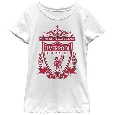 3b541869605 Amazon.com: Liverpool Football Club Girls' Classic Bird Shield 1892 ...
