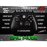 Epic Modz Xbox ONE Custom Original Modded Wireless Controller Cod Mod 3.5mm Call Of Duty, Battlefield + More !! by Epic Modz