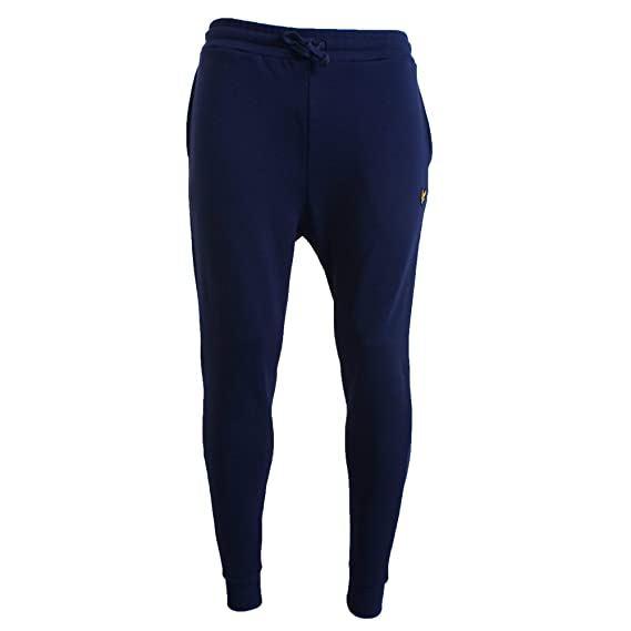 677a6108 Lyle & Scott Men's Skinny Sweatpant Sports Jogger, Blue (Navy Z99), W28