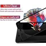 CareFone Nokia 6 Full Tempered Glass, Screen To Screen Fit, 2.5D Curved Glass - Black