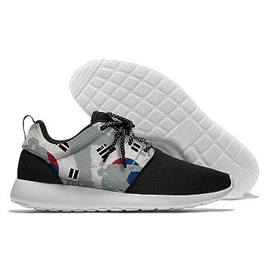 Puck-Korean-flag Men Sport Casual Sneakers Breathable Walking Athletic Shoes