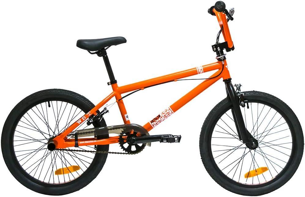 WST BMX Bicicleta, Adultos Unisex, Naranja, M: Amazon.es: Deportes y aire libre