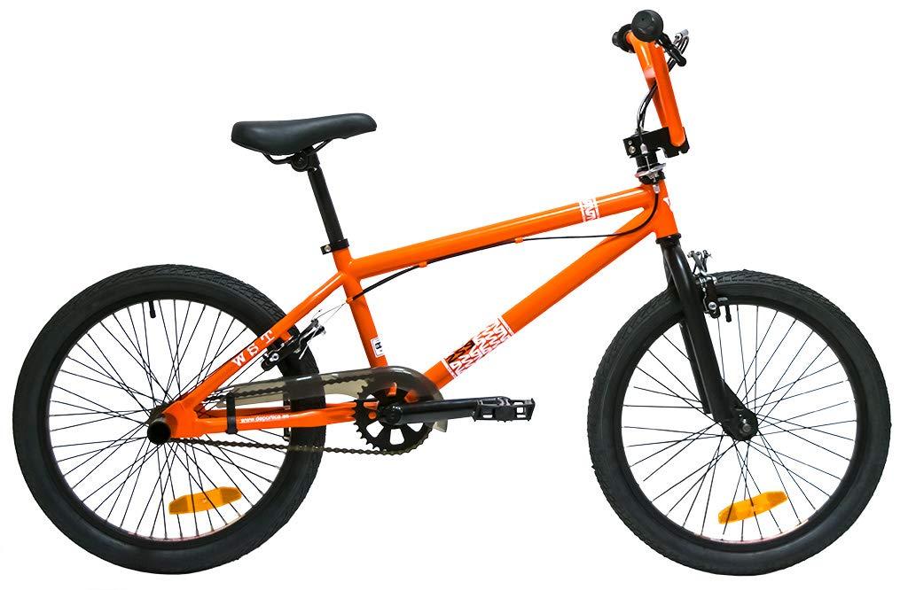 WST BMX Bicicleta, Adultos Unisex, Naranja, M: Amazon.es: Deportes ...