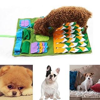 KIOPS Coperta di addestramento dell'animale Domestico, stuoia di Alimentazione del Cane Stuoia di Snuffle del Cane Piccola Coperta di addestramento del Cane Coperta Antiscivolo Stuoia di attività