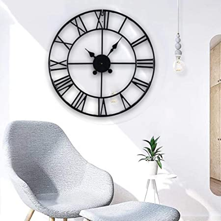 40cm Traditional Vintage Style Wall Clock Roman Numerals Home Decor Gift