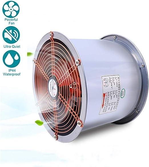 180W Industria Ventilador Extractor de Aire en Línea con Motor de ...