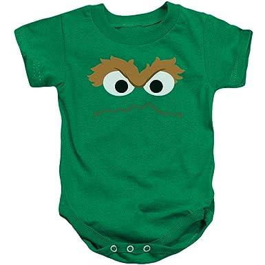 Sesame Street Classic TV Show Oscar Says Now Scram Infant Romper Snapsuit