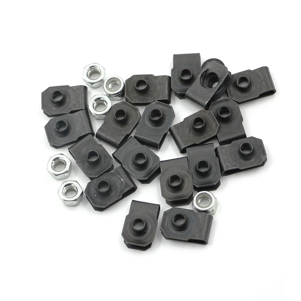 Alpha Rider Motorcycle Black Complete Fairing Bolt Kit Washer Fasteners Clip Screws For Yamaha YZF R6 2008-2014