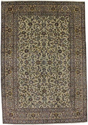 - Enchanting Semi Antique Sage Green Kashan Persian Style Rug Oriental Area Carpet 9X13