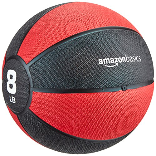 AmazonBasics Medicine Ball, - Set Barbell Weighted