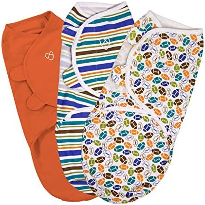 SwaddleMe Original Swaddle 3-PK, Touchdown (SM)