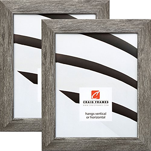 Craig Frames 26030 24 x 36 Inch Picture Frame, Gray Barnwood