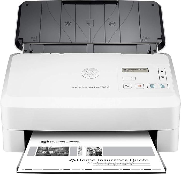 HP ScanJet Enterprise Flow 7000 s3 Sheet-feed OCR Scanner