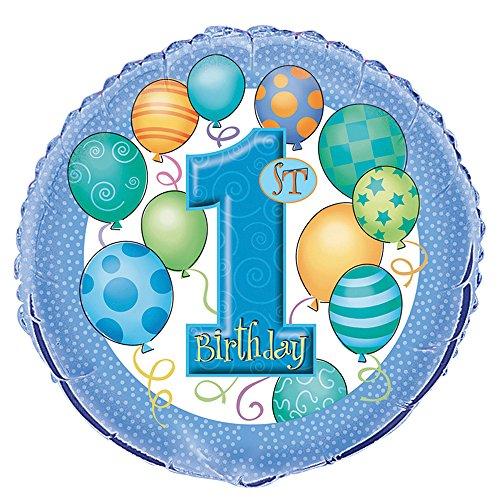 1st Birthday Boy Balloon - 7