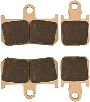 Copper 6/Piston Radial Caliper 2007/ AHL Motorcycle Front Brake Pads for Yamaha YZF R1/ /2011/sintered