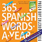 365 Spanish Words-A-Year  Page-A-Day...