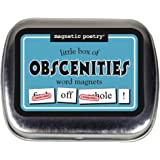 Magnetic Poetry - Little Box of Obscenities Kit - Words for Refrigerator - Write Poems and Letters on The Fridge - Made…