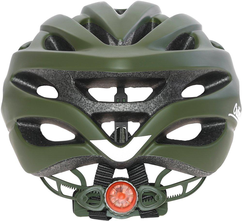 Critical Cycles Casco para Bicicleta Silas con 24 Aberturas, Unisex, Color Matte Sage Green, tamaño Talla única: Amazon.es: Deportes y aire libre
