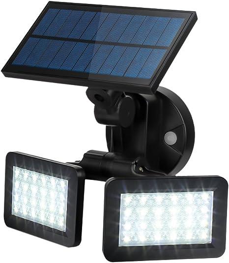 Premium Grade 56 LED Solar panel light with motion sensor dusk to dawn sensor