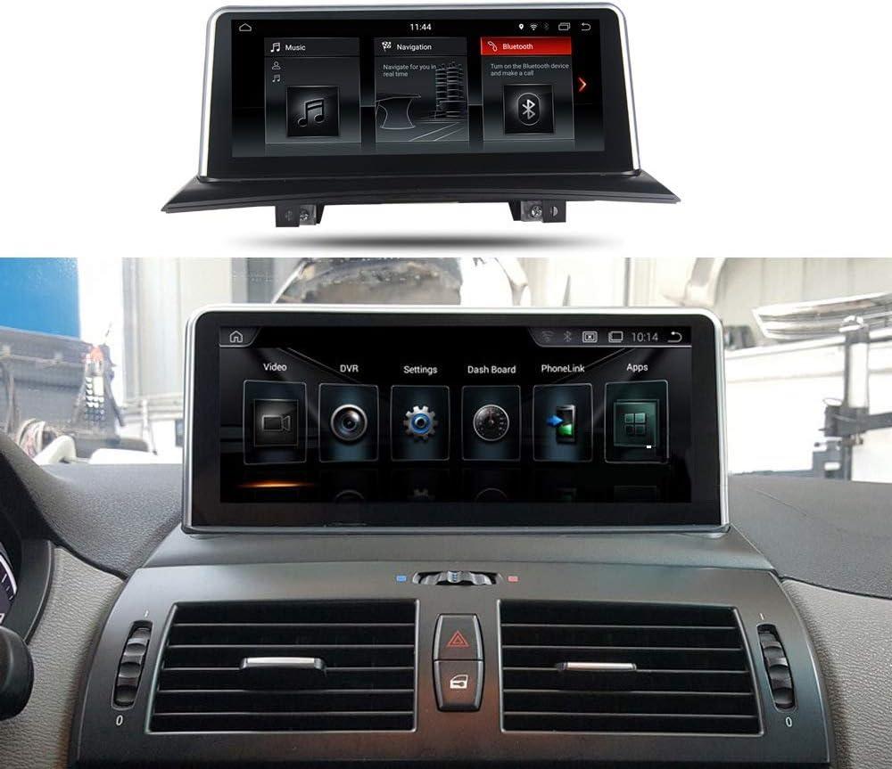 DVD Del Coche Navegador Android 9.0 Con Control 2USB / Voz / 32GB De Gran Capacidad Multimedias Del Coche Radio Con 10.25 Pulgadas Pantalla Táctil Capacitiva Completa Para BMW X3 De BMW