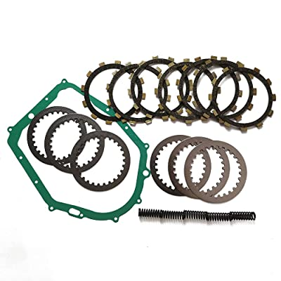 Complete Clutch Kit Heavy Duty Springs and Gasket Yamaha Warrior 350 YFM350 87-04 Yamaha Raptor 350 2004-2013: Automotive
