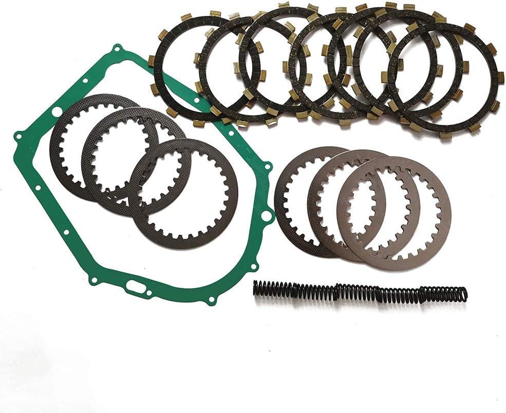 Complete Clutch Kit Heavy Duty Springs and Gasket for Yamaha Warrior 350 YFM350X 87-04 Raptor 350 YFM350R 04-13