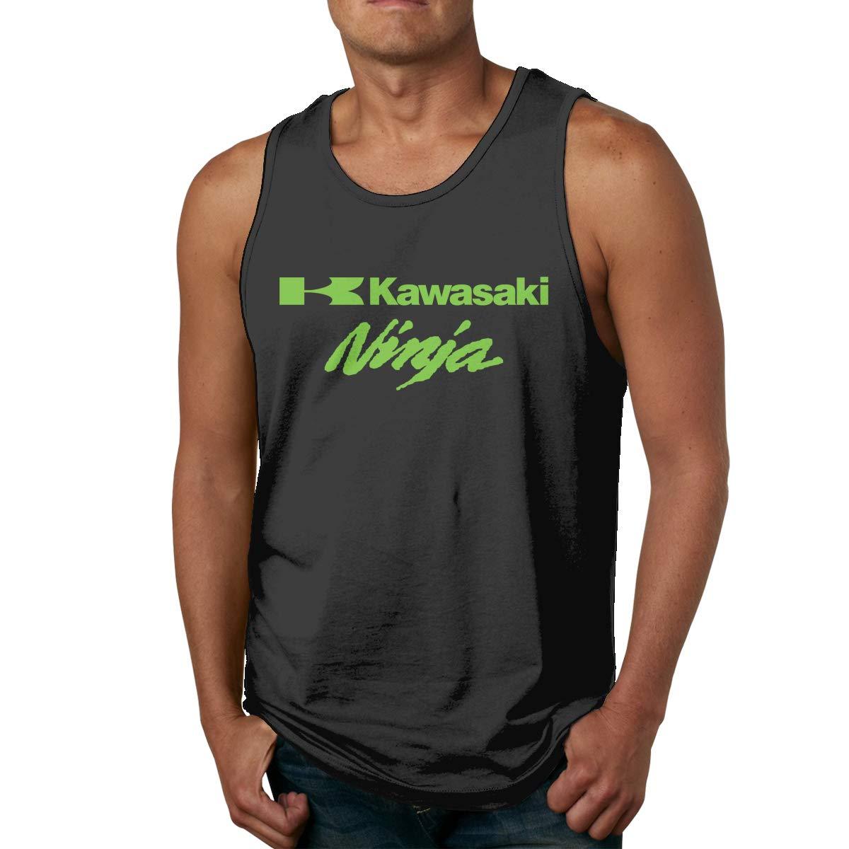 Amazon.com: Custom Vector Ninja Kawasaki Tank Top T-Shirt ...