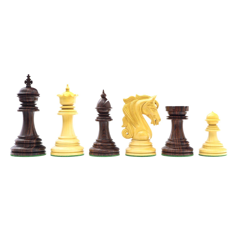 【同梱不可】 The Large Kingsgate Rosewood Rosewood Luxury inch Chessmen Kingsgate with 4.25 inch King B01CD1W5RY, プリントポット:72ebd233 --- arianechie.dominiotemporario.com