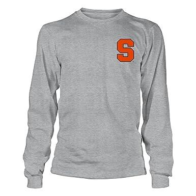 Syracuse Orange Chevron Anchor Grey Longsleeve Tee - Official Sports Apparel eab875c19