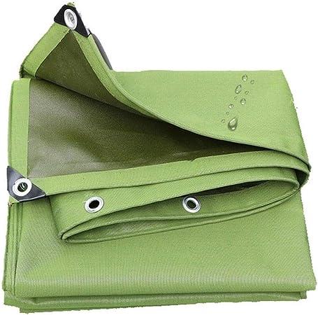 Lona de jardín Impermeable 1.5mx2m / 5ftx6ft Lonas de Lona para Exteriores Cubierta de Lona Verde Impermeable Resistente para remolques RV Barcos, con Borde Reforzado y Ojales, protección UV: Amazon.es: Hogar