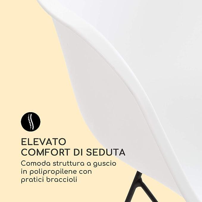 Blumfeldt Skandi /• Set da 2 Sedie a Dondolo /• Resistente ai Raggi UV