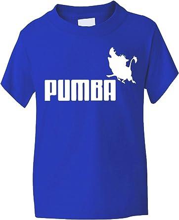 Infantil de neopreno para King Carcasa de bandera de León Pumba/diseño de chicas a partir de T-de peluche con camiseta 1-13: Amazon.es: Ropa y accesorios