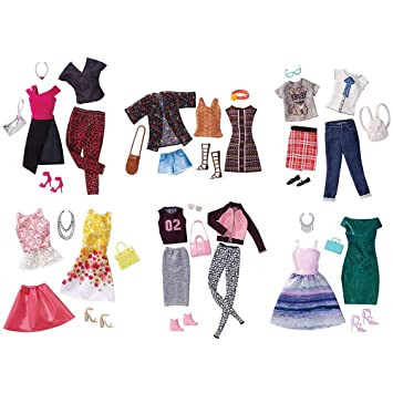 89239fd6c52 Barbie FCT81 Fashion Clothes   Accessories Assortment - 1 Supplied  Randomly  Amazon.co.uk  Toys   Games