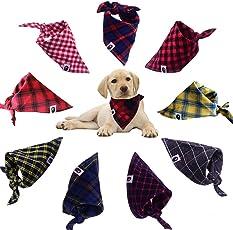 TAOBABY 8pcs/Pack Classic Pet Dog Bandanas Washable Triangle Plaid Adjustable Dog Scarf Bow Tiess  sc 1 st  Amazon.com & Amazon.com: Costumes - Apparel u0026 Accessories: Pet Supplies
