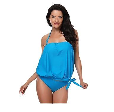 Acheter Pas Cher Vente De La France CTOOO Bikini Maillot de bain Femme sexy à taille haute Couleur pure Offre La Vente En Ligne Images Bon Marché sYCZdV3nB
