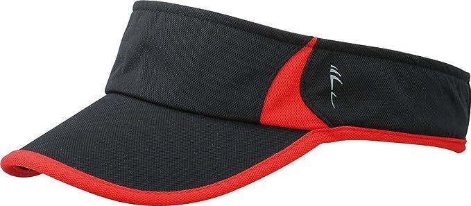 Myrtle Beach Running Sunvisor - Gorra (talla única) negro negro ...