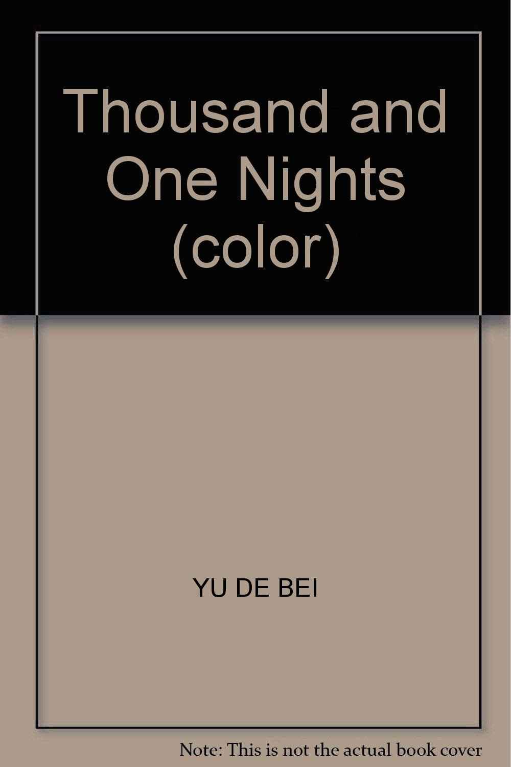 Thousand and One Nights (color) pdf