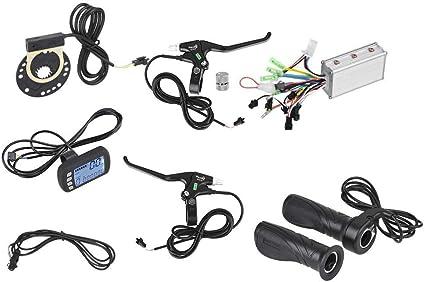 36V-48V 250W//350W Motor Controller Steuergerät mit LCD Panel für E Bike DHL