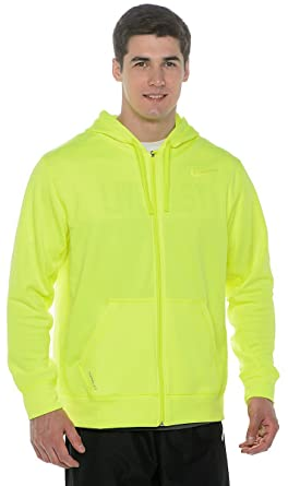 Nike Herren Thermo Fit KO Full Zip Trainings Hoodie Dunkel