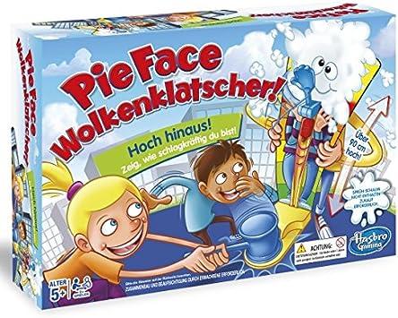 Hasbro Games C2130100 - Pie Face Cloud Slatter, Juego para niños: Amazon.es: Juguetes y juegos