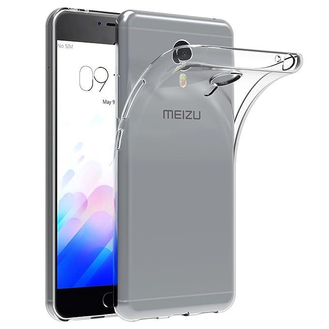 ocketcase Meizu M3 Note Funda, TPU Carcasa Suave Silicona Flexible Gel Funda Resistente a los Arañazos Tapa Protectora Case Cover para Meizu M3 ...