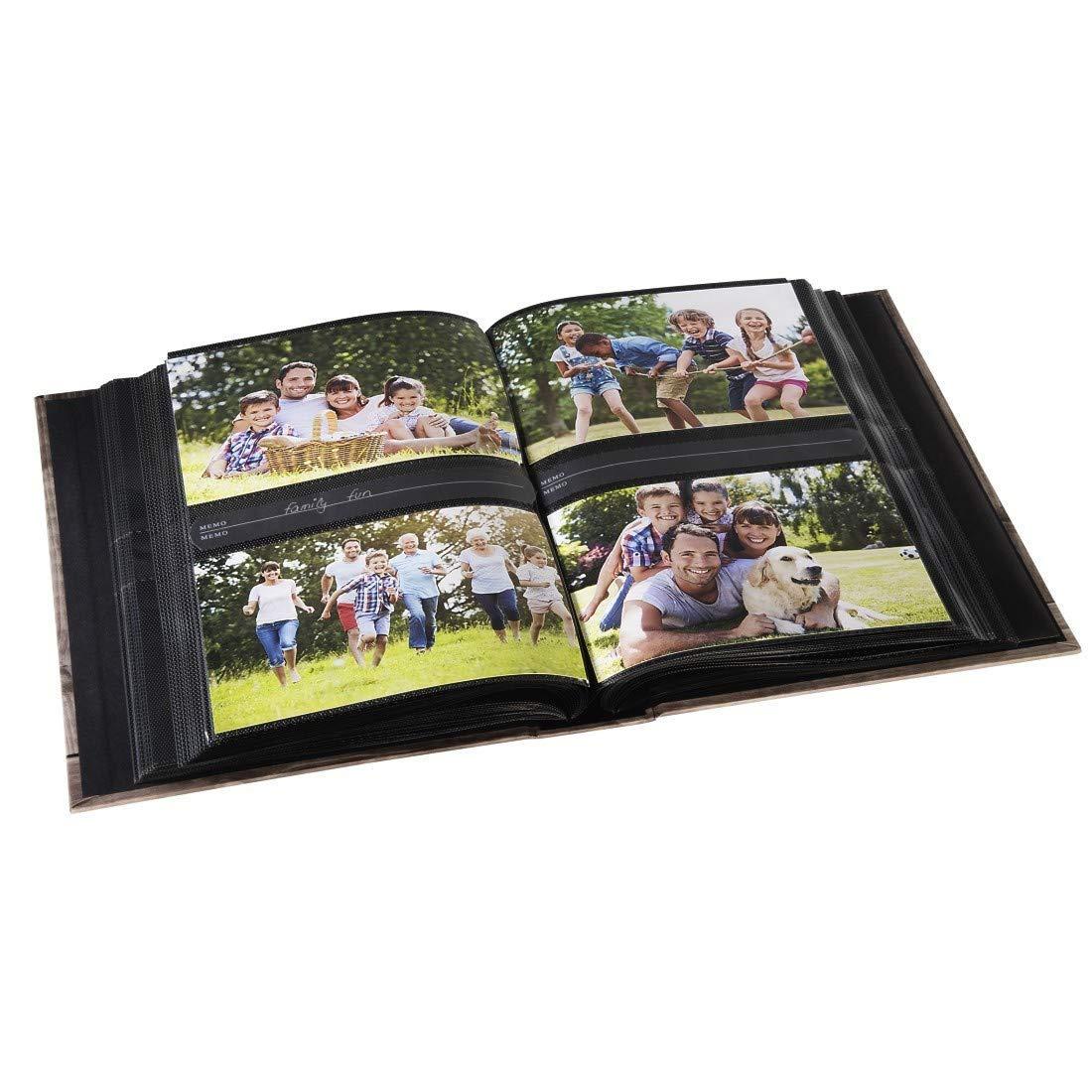/Álbum de fotograf/ía , 190 mm Hama Batzi Marr/ón /álbum de Foto y Protector s Marr/ón, 100 Hojas, 10 x 15 cm, 200 Hojas, 1 Pieza