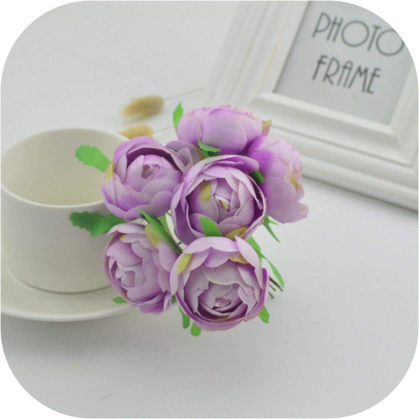 Amazon Com 6pcs 4cm Silk Handmade Bud Artificial Bouquet Wedding Home Decoration Wreath Gift Clip Art Craft Fake Flower Purple Kitchen Dining,Most Beautiful Speakers